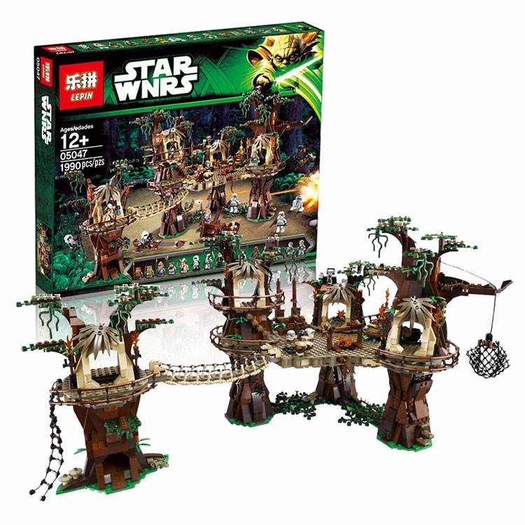 Star Wars Ewok Village Lepin 05047 Lego 10236 Alibricks