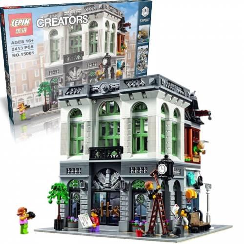 Creator Expert Brick Bank Lego 10251 Lepin 15001 Alibricks