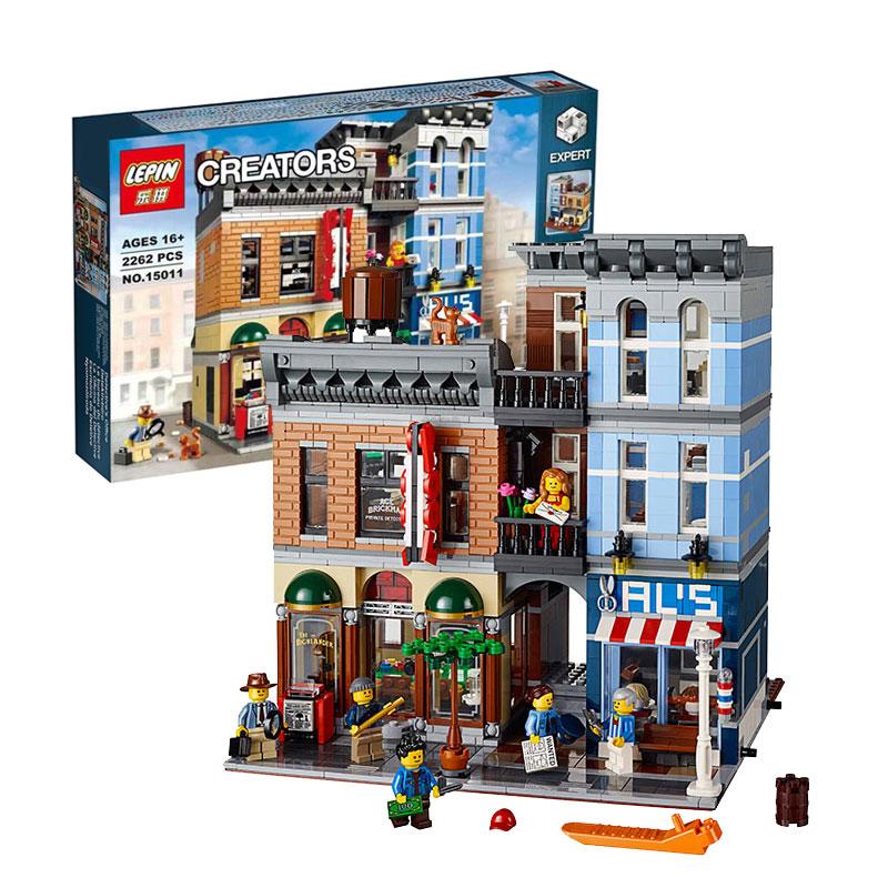 Creator Detective's Office (Lego 10246, Lepin 15011) - AliBricks