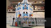 Lepin 15018 Sunshine Hotel time-lapse build